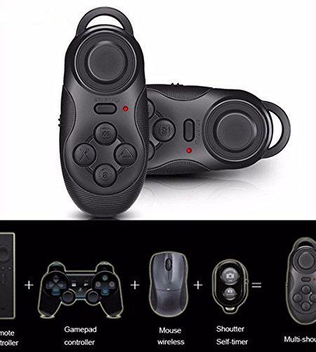 ELEGIANT-Mini-drahtlose-Bluetooth-Gamepad-Fernbedinung-Fernsteuerpult-Steuerung-Remote-Controller-Android-Handy-Fernbedienung-fr-3D-VR-Brille-Google-Karton-Beamer-Selfie-Kamera-Shutter-Wireless-Maus-M-0