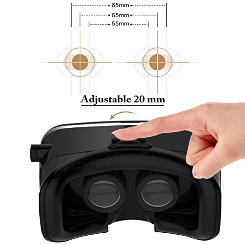 elegiant universal 3d vr einstellbar virtual reality brille karton video movie game brille. Black Bedroom Furniture Sets. Home Design Ideas