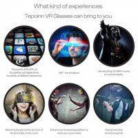 Tepoinn-Google-Cardboard-3D-VR-Virtual-Reality-Headset-fr-3D-Filme-und-Spiele-Kompatibel-mit-4-6-Zoll-Smartphones-0-1