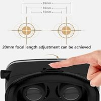 Timesun-Universal-3D-VR-Einstellbar-Virtual-Reality-Brille-Karton-Video-Movie-Game-Brille-virtuelle-Realitt-Glasses-fr-35-6-Android-IOS-Iphone-Samsung-Galaxy-Mega-2Galaxy-Note-4Galaxy-Note-3Galaxy-S6--0-3